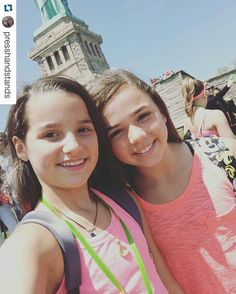 #Repost @presshandstands with @repostapp Couldn't get the Statue of Liberty in the picture but we are having a great time in New York!! Day 138 by youtubertard