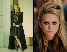 Mary Kate-Olsen as a witch in the movie Beastly. She makes a good Goth girl, if only before she and her sister go back to their homeless-glam look