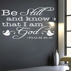 Religious Vinyl Wall Quotes only from www.trendywaldesigns.com.