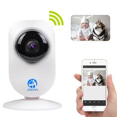 JOOAN A5 Wireless IP Camera Two Way Audio Cloud Storage Baby Wifi Camera Monitor Wireless Home Security Network Baby Monitor