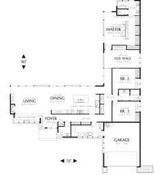 Plan HHF-8234 First Floor Plan