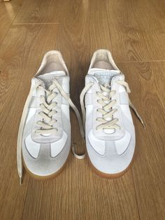 125€ Maison Margiela Leather And Suede Sneakers UK9 in Kleidung & Accessoires, Herrenschuhe, Turnschuhe & Sneaker | eBay!