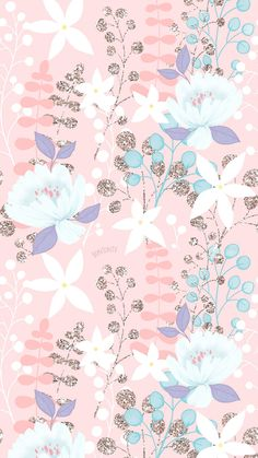 Cell Phone Wallpapers HD Watercolor Flowers - by BonTon TV - Free Background Images . Artsy Wallpaper Iphone, Cute Pastel Wallpaper, Flower Background Wallpaper, Flower Phone Wallpaper, Spring Wallpaper, Cute Patterns Wallpaper, Glitter Wallpaper, Aesthetic Pastel Wallpaper, Cute Wallpaper Backgrounds