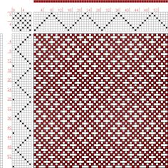 Hand Weaving Draft: Page 126, Figure 17, Donat, Franz Large Book of Textile Patterns, 8S, 8T - Handweaving.net Hand Weaving and Draft Archive