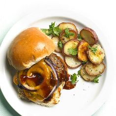 Fruity peach preserves add a touch of sweetness to these grilled burgers while keeping the meat extra moist: http://www.bhg.com/recipe/grilled-meat-loaf-burgers/?socsrc=bhgpin060114grilledmeatloafburgers