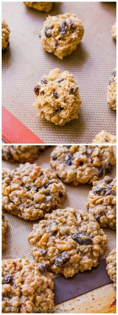 Soft-Baked Oatmeal Raisin Cookies by sallysbakingaddiction.com. Nothing fancy or complicated, just pure homemade goodness!