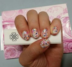 Sunday Brunch Jamberry Nail Wraps, DIY nails, nail art, garden party, floral, Jamberry, pretty nails  Melford.jamberrynails.com.au