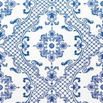 Sherle Wagner Delft Wallpaper