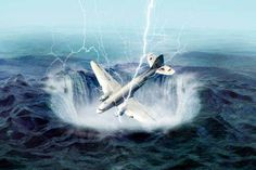Has the mystery of the Bermuda Triangle finally been solved? THE Bermuda Triangle has fuelled the imaginations of conspiracy theorists and paranormal investigators for more than half a century. Bermuda Triangle Facts, Ufo, Mysterious Events, Mysterious Things, Scary Things, Coast To Coast Am, Ghost Ship, Airline Flights, Greatest Mysteries