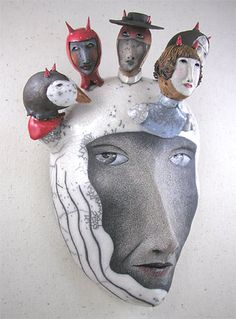 Peggy Bjerkan's amazing masks.....so much inspiration!!