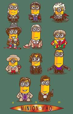 Minion doctors! @Sarah Hastings I don't really get it, but I'm sure you'll appreciate it!