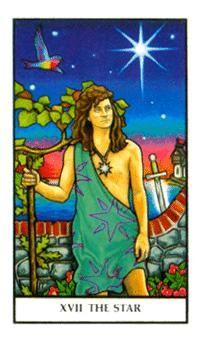 The Star Tarot Card - Connolly Tarot Deck Celtic Cross Tarot, Relationship Tarot, Star Tarot, Online Tarot, Love Tarot, Tarot Major Arcana, Tarot Card Meanings, Fortune Telling, Tarot Reading