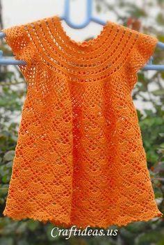 vestido con tutorial