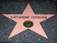 Katharine Hepburn's Hollywood Walk of Fame Star--South side of the 6200 block of Hollywood Boulevard