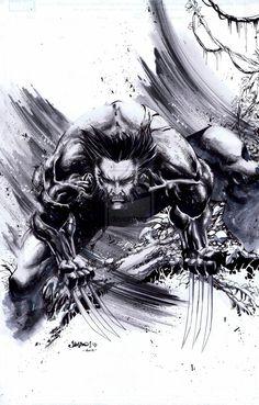Savage Wolverine by Jimbo02Salgado
