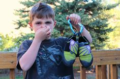 A Natural Remedy For Stinky Rock Climbing Shoes  