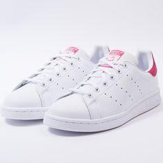 size 40 17719 597bd Adidas stan smith (white white pink)-1 Tenis Blancos Adidas,