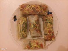 Steiner Kristóf vietnámi tavaszi tekercse Fresh Rolls, Minion, Street Food, Vietnam, Cabbage, Vegan Recipes, Asian, Vegetables, Ethnic Recipes