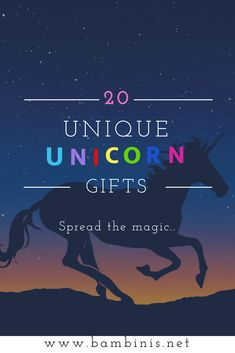 50 Unique Gifts for Unicorn Lovers