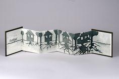 """Julie Friedman    Miniature Book  """"Settled"""""""