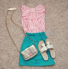 So cute and preppy!!!  And maybe a touch southern??