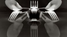 Cutlery Still Life and Photoshop fun