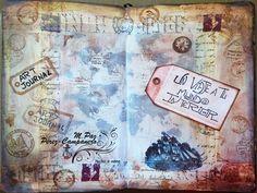 El Art Journal como viaje interior. M.Paz Pérez-Campanero