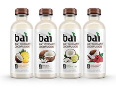 Bai Cocofusions Variety Pack, 5 Calories, No Artificial Sweeteners, Sugar, Antioxidant Infused Beverage (Pack of Gourmet Recipes, Healthy Recipes, Healthy Foods, Drink Recipes, Healthy Eating, Coconut Drinks, Refreshing Drinks, Summer Drinks, Fun Drinks