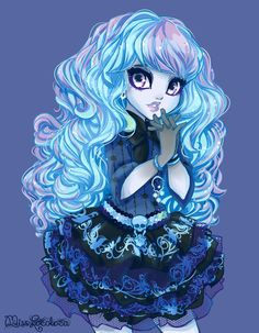 I'm in love with this artist. Your art is absolutely amazing. I love her style for drawing hair. *O* Mattel, recruit this girl now! I want my dolls with her design. <3  Twyla by MissLocoloca