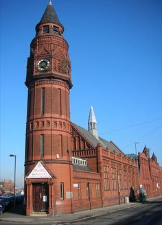 Small Heath Birmingham - former Library and Baths now Green Lane mosque