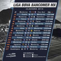 calendario club america clausura liga mx - YouTube