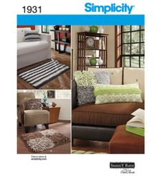 Simplicity Pattern Home Decorating One Size