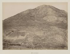 Vue générale du site de Mycènes, Péloponnèse © Musée Guimet, Paris, Distr. Rmn / Image Guimet Art Asiatique, Greek History, Images, Photos, Album, Paris, 19th Century, Photographs, Pictures