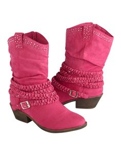 Pink Embellished Cowboy Boots   New Arrival!   Item Groups   Shop Justice