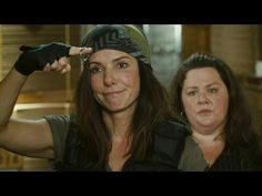Sandra Bullock and Melissa McCarthy -The Heat (Contains some bad language)