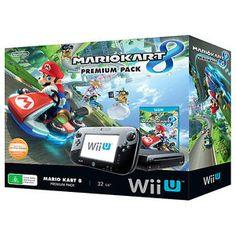 Nintendo Wii U Premium Console + Mario Kart 8 Pack New From Target