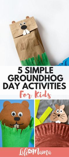 5 Simple Groundhog Day Activities For Kids