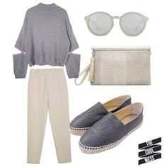 #woman #outfit #fashion #streetstyle #culotte #trend #chanel #sunglasses