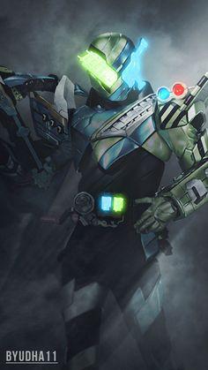 Kamen Rider Build : Kaizoku Resha Wallpaper by Byudha11