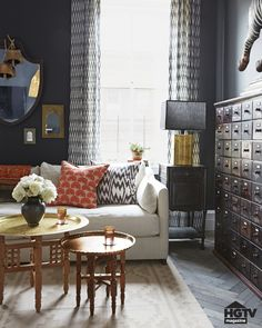 """""""Place anything in front of black and it becomes more beautiful, more dramatic, and more noticeable,"""" Genevieve says."""