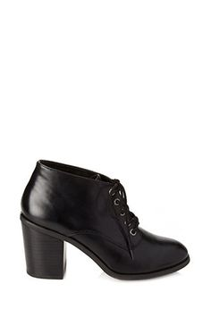 Lace-Up Ankle Boots | FOREVER 21 - 2000121482