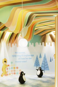 Diplom ice cream castle by Scenario Interior Architects, Oslo   Norway store design