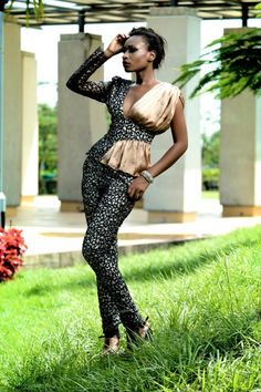 """Swan Addiction"" – The Spring/Summer 2012-2013 Collection Lookbook by Nigerian Design Label, Moofa 