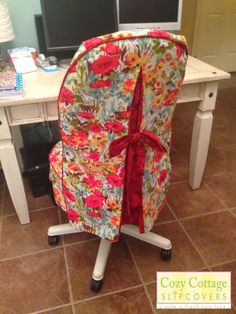 Mesh Office Chair Black Room Essentials - Office Chair - Ideas of Office Chair - 2015 Cozy Cottage Slipcovers: Office Makeover Office Chair slipcover Office Chair Ideas of Office Chair 2015 Cozy Cottage Slipcovers: Office Makeover Office Chair slipcover