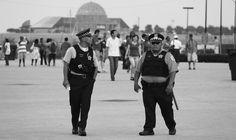 #police #officer #blackandwhite #blackandwhitephotography #urban #people #igers #ignation #photooftheday @chicityphotos #urbanphotography #canon #canonphotography #protectandserve #patrol #patrolling #buckinghamfountain #chicago