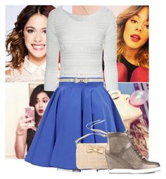 """Violetta-Martina Stoessel"" by andreagojkovic ❤ liked on Polyvore featuring Jane Norman, Philipp Plein, River Island and Jimmy Choo"
