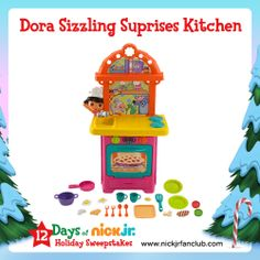 A Dora Sizzling Surprises Kitchen is an awesome holiday gift!