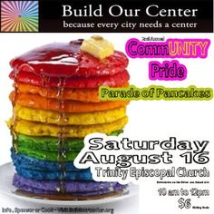 Build Our Center Reno CommUNITY Pride Parade of Pancakes 2014