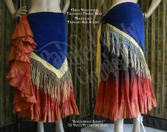 Velveteen Hip Belt Base & Fringed Silk Hip Scarf.    You can order yours here:  http://www.paintedladyclothiers.aradium.com/5w3om
