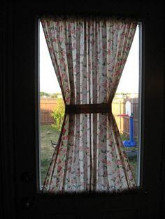 half window curtains on pinterest window curtains